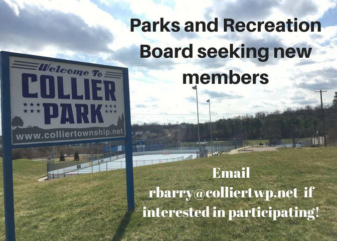 Parks and Recreation Board seeking new members