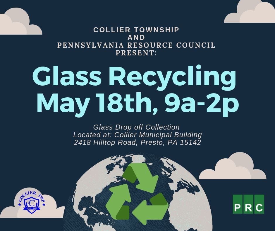 Recycle Your Glass on May 18th