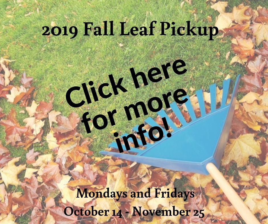 2019 Fall Leaf Pickup