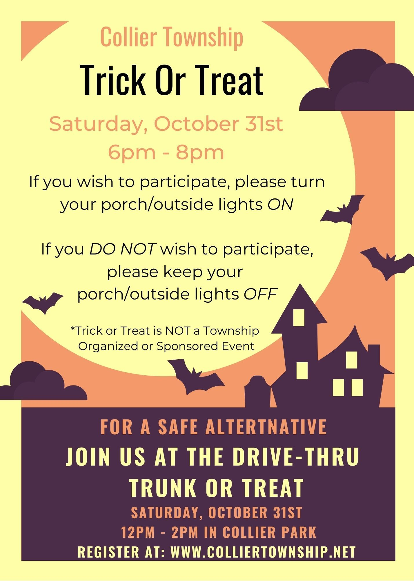 Collier Township Trick or Treat